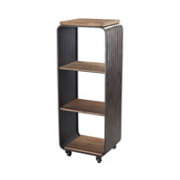Maltapan Dark Grey Shelving