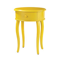 Signature 18 X 14 inch Yellow Accent Table Home Decor