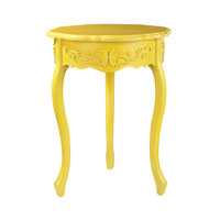 Sterling Signature Accent Table in Yellow 51-10150