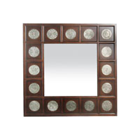 Sterling Industries Stamped Medallion Mirror 51-1403M photo thumbnail