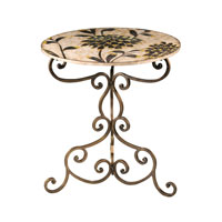Sterling Industries Floral Side Table 51-1783