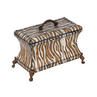Sterling Industries Decorative Zebra Box Decorative Accessory in Painted 51-3754