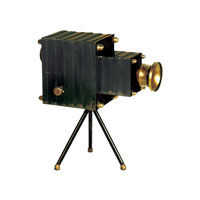 Sterling Industries Portrait Camera Decorative Accessory 51-8251