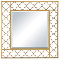 Sterling 5132-022 Aqaba 32 X 32 inch Antique Gold Wall Mirror