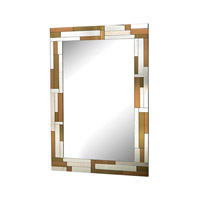 Sterling Copper Geometric Mirror 5173-026