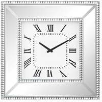 Falconbrook Clear Mirror, Crystals Wall Clock
