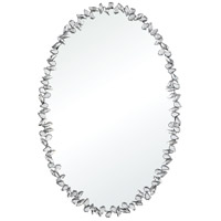 Isolde 35 X 23 inch Silver Wall Mirror
