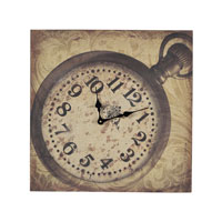 Sterling Industries Signature Clock in Ashen Beige 53-8501