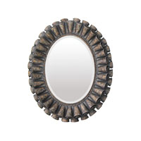 Sterling Industries Rufflef Oval Mirror in Humbolt 55-0027M