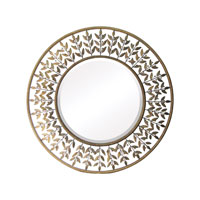 Sterling Industries Willow Brook Mirror in Walker Silver 55-211