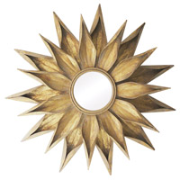 Brackenhead 36 X 36 inch Cambelside Gold Mirror Home Decor