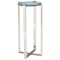 Uptown 17 inch Polished Nickel Table Home Decor