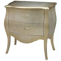 Sterling Romana Bowfront Chest in Silver Leaf 6041450
