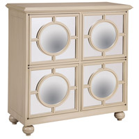 Sterling French Ivory Mirage Cabinet in Muted Ivory 6042341
