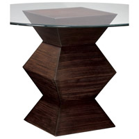 Signature 30 X 12 inch Zebrano Tone Side Table
