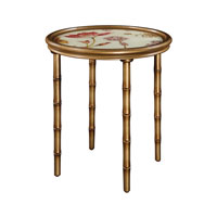 Sterling Signature Glass Table in Gold Tone 6043380