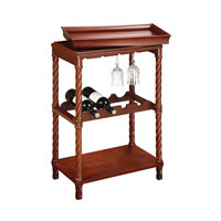 Sterling Signature Wine Cart in Natural Cherry Tones 6043453