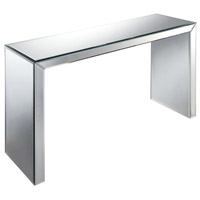 Matinee 48 X 16 inch Clear/Mirror Hall Table