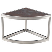 Signature 14 X 14 inch Stainless Steel Table Home Decor