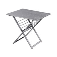 Sterling Signature Side Table in Silver 6043653