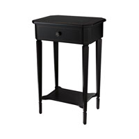 Sterling Ebony Side Table in Ebony 6043666