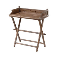 Signature 27 X 16 inch Antique Wash Tray Table Home Decor