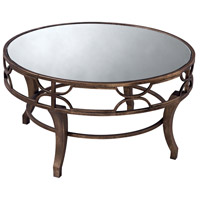 Sterling 6043728 Signature 36 X 36 inch Antique Gold Coffee Table Home Decor