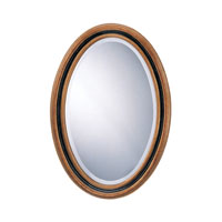 Sterling Signature Mirror in Antique Gold And Black 6050025