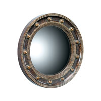 Sterling Industries Porthole Mirror in Scottsbluff Silver 6050193