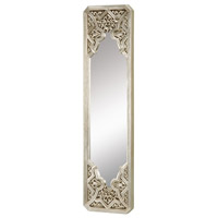 Sterling 6050379 Gothic 36 X 9 inch Antique Silver Leaf Mirror Home Decor