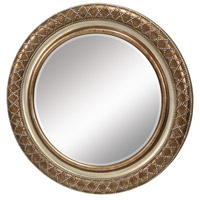 Cocktail 36 X 36 inch Schuyler Silver Wall Mirror