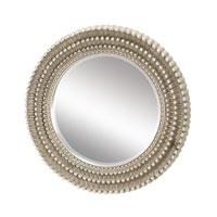 Sterling 6050409 Dahila 35 X 35 inch Antique Silver Leaf Mirror Home Decor