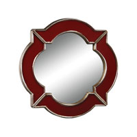 Sterling Industries Lilliput Mirror in Schribner Red 6050522
