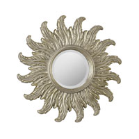 Nero 18 X 18 inch Antique Silver Leaf Mirror Home Decor