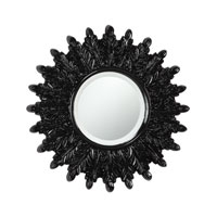 Arcadius 18 X 18 inch Gloss Black Mirror Home Decor