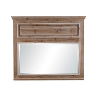 Sterling Signature Mirror in Beached Wood 6050671