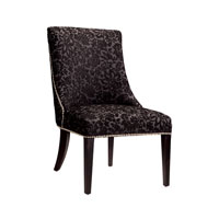 Sterling Signature Chair in Damask Patterned Velvet 6070671