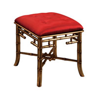 Sterling Signature Bench in Gold Leaf and Brown 6070736