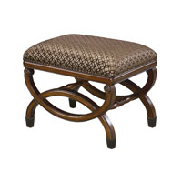 Signature Antique Gold Bench Home Decor