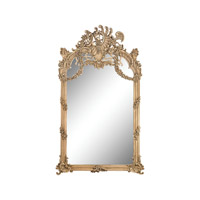 Sterling Renaissance Scroll Mirror In Russian Oak 6100-010