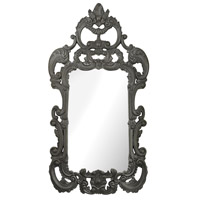 Rocco 73 X 38 inch Black Ash Wall Mirror Home Decor