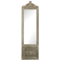Bastille 71 X 21 inch Grey White Wash Wall Mirror Home Decor