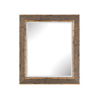 Cognac 31 X 24 inch Rust & Gold Wall Mirror Home Decor