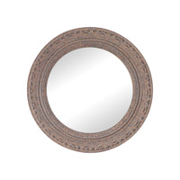 Messina 20 X 20 inch Rust Wall Mirror Home Decor