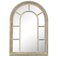 Windward 41 X 29 inch Cream Washed Woodtone Wall Mirror Home Decor