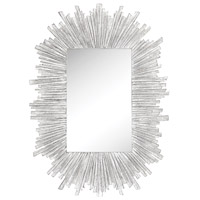 Sterling 6100-032 Arroyo 50 X 36 inch Bleached White Wall Mirror