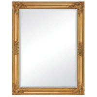 Pont Neuf 35 X 28 inch Gold Wall Mirror Home Decor
