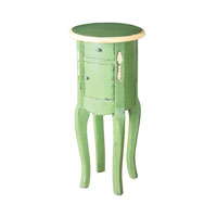 Sterling Signature End Table in French Green and Cream 6500523
