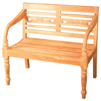 Signature Natural Bench Home Decor