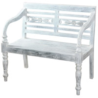 Signature Grey Bench Home Decor